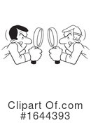 Magnifying Glass Clipart #1644393 by Johnny Sajem