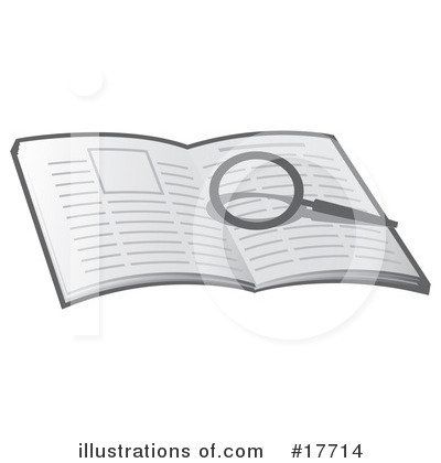 Book Clipart #17714 by Leo Blanchette