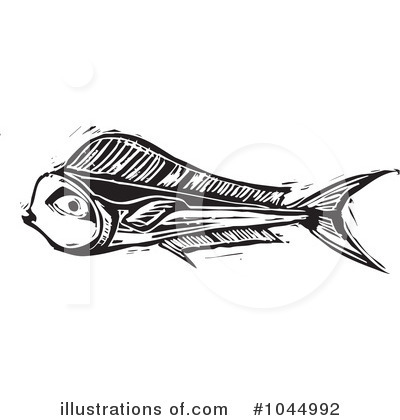 Dolphin Fish Clipart #1044992 by xunantunich