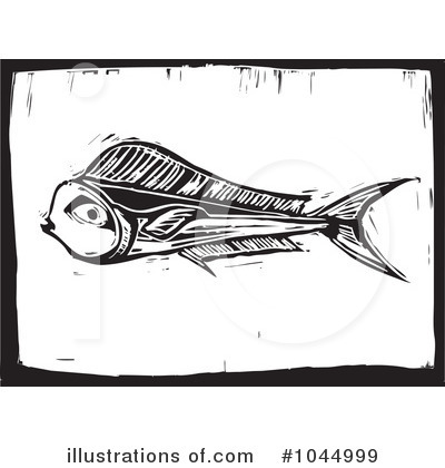 Dolphin Fish Clipart #1044999 by xunantunich