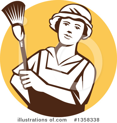 Maid Clipart #1358338 by patrimonio