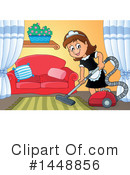 Royalty-Free (RF) Maid Clipart Illustration #1448856
