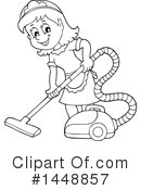 Royalty-Free (RF) Maid Clipart Illustration #1448857