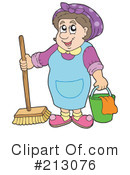 Maid Clipart #213076 by visekart