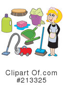 Maid Clipart #213325 by visekart