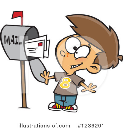 Mailbox Clipart #1236201 by toonaday