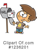 Mail Clipart #1236201 by toonaday