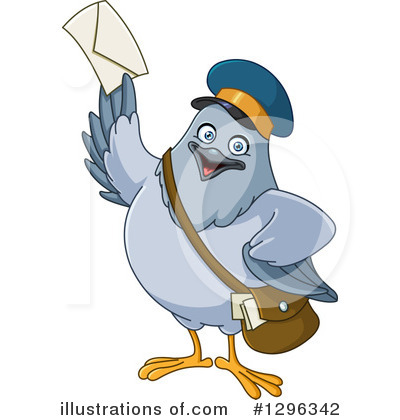 Mail Man Clipart #1296342 by yayayoyo