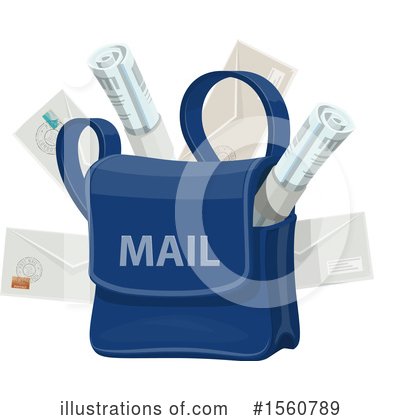 Post Office Clipart #1560789 by Vector Tradition SM