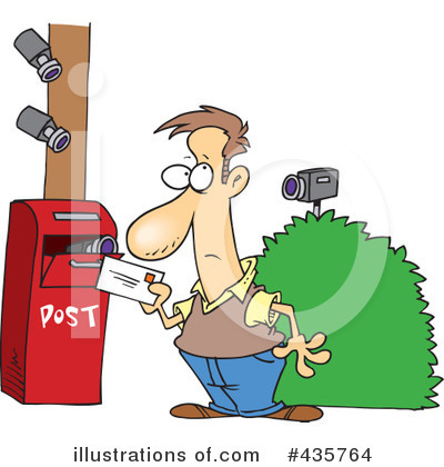 Post Office Clipart #435764 by toonaday