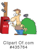 Royalty-Free (RF) Mail Clipart Illustration #435764