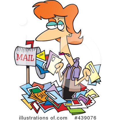 Mail Clipart #439076 by toonaday