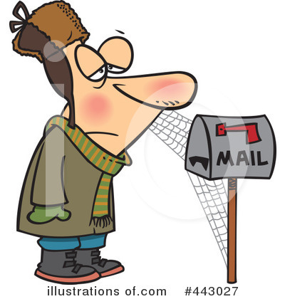 Mail Clipart #443027 by toonaday