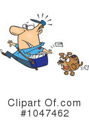 Mail Man Clipart #1047462 by toonaday
