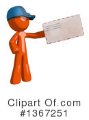 Mail Man Clipart #1367251 by Leo Blanchette