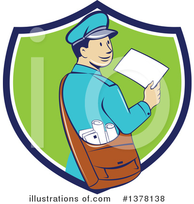 Envelope Clipart #1378138 by patrimonio