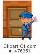 Mail Man Clipart #1476351