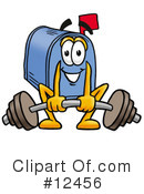 Mailbox Character Clipart #12456 by Toons4Biz