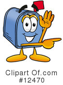 Mailbox Character Clipart #12470 by Toons4Biz
