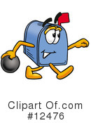 Mailbox Character Clipart #12476 by Toons4Biz