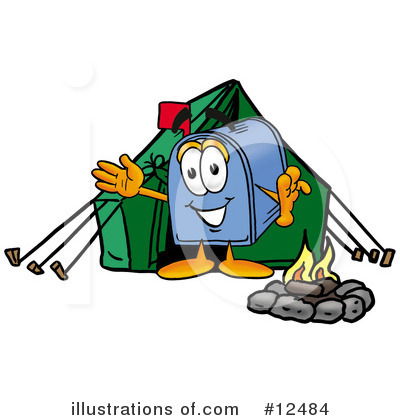 Mailbox Character Clipart #12484 by Toons4Biz