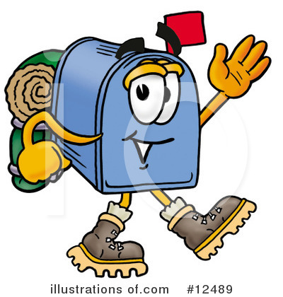 Mailbox Character Clipart #12489 by Toons4Biz