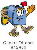 Royalty-Free (RF) Mailbox Character Clipart Illustration #12489