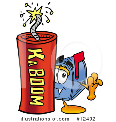 Mailbox Character Clipart #12492 by Toons4Biz