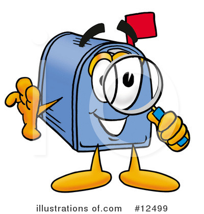 Mailbox Character Clipart #12499 by Toons4Biz