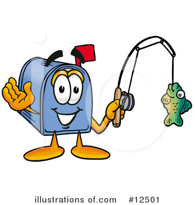 Mailbox Character Clipart #12501 by Toons4Biz