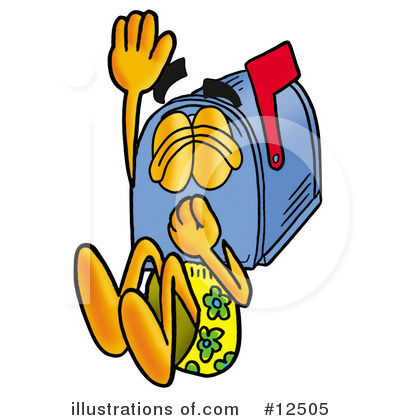Mailbox Character Clipart #12505 by Toons4Biz