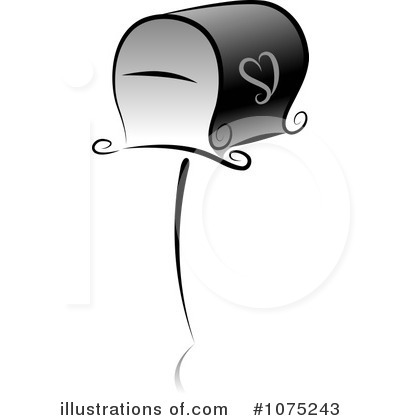 Royalty-Free (RF) Mailbox Clipart Illustration by BNP Design Studio - Stock Sample #1075243