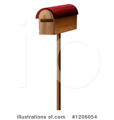 Royalty-Free (RF) Mailbox Clipart Illustration by colematt - Stock ...