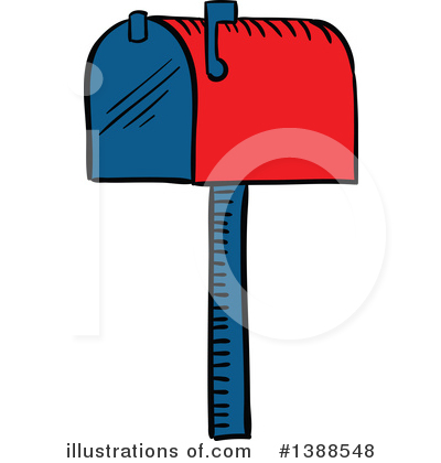 Mail Clipart #1388548 by Vector Tradition SM