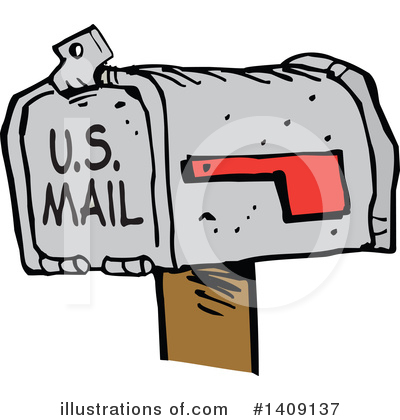 Mail Clipart #1409137 by Johnny Sajem