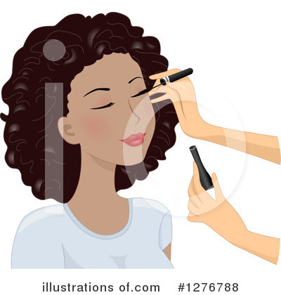 Royalty-Free (RF) Makeup Clipart Illustration by BNP Design Studio - Stock Sample #1276788
