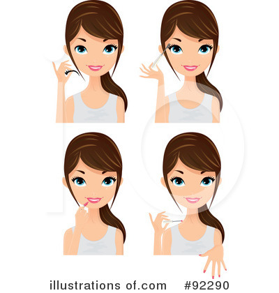 Beauty Clipart #92290 by Melisende Vector