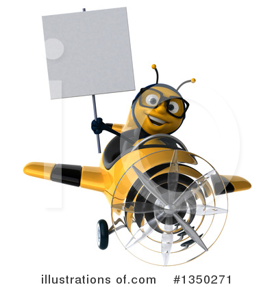 Male Bee Clipart #1350271 by Julos