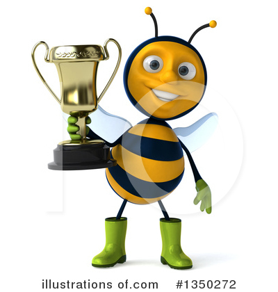 Male Bee Clipart #1350272 by Julos