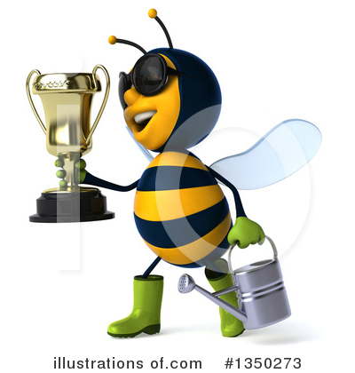 Male Bee Clipart #1350273 by Julos