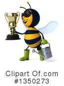 Royalty-Free (RF) Male Bee Clipart Illustration #1350273
