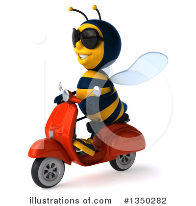 Male Bee Clipart #1350282 by Julos