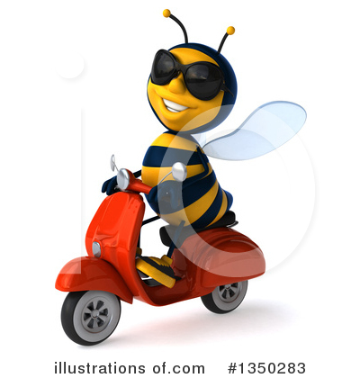 Male Bee Clipart #1350283 by Julos