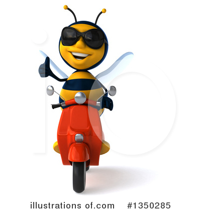 Male Bee Clipart #1350285 by Julos