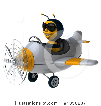 Male Bee Clipart #1350287 by Julos