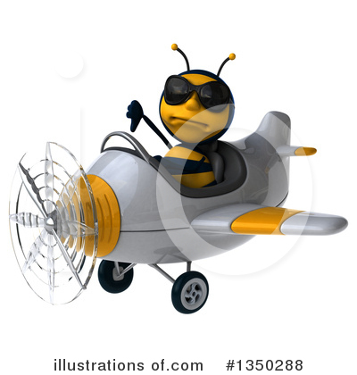 Male Bee Clipart #1350288 by Julos