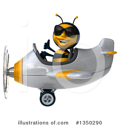 Male Bee Clipart #1350290 by Julos