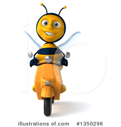 Bee Clipart #1350296 by Julos