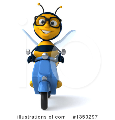 Bee Clipart #1350297 by Julos