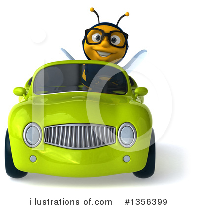 Bee Clipart #1356399 by Julos
